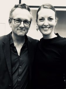 Dr Michael Mosley with Meri