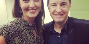 Meri with Matthew Reilly