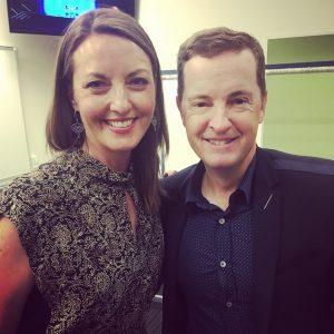 Meri with Matthew Reilly